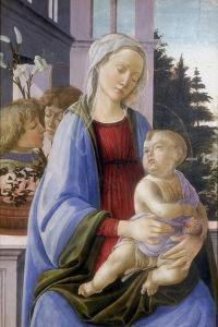 The Virgin and Child with Two Angels, 1472-1475 by Filippino Lippi