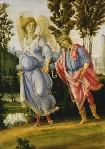Tobias and the Angel, C.1475-1480 by Filippino Lippi