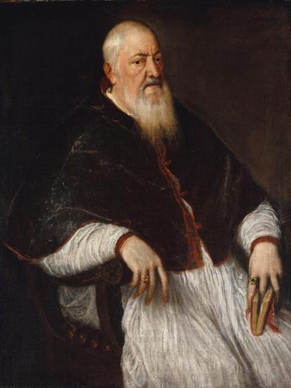 Filippo Archinto, Archbishop of Milan, c.1555-Titian-Giclee Print