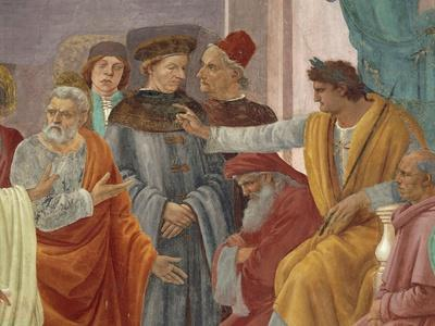 Saint Peter Confronts Simon Magus before Nero