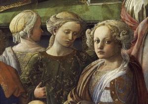 Incoronazione Maringhi or Coronation of Virgin by Filippo Lippi