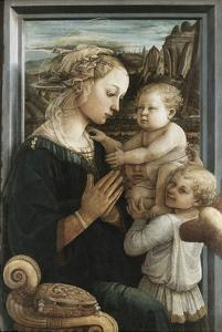 Madonna and Child with Angels by Filippo Lippi