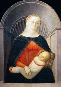 Madonna and Child by Filippo Lippi