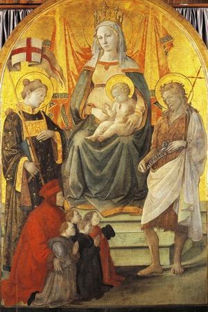 Madonna Del Ceppo, 1452-1453