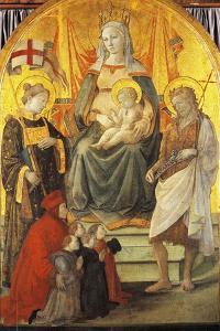 Madonna Del Ceppo, 1452-1453 by Filippo Lippi
