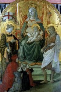 Madonna Del Ceppo (Madonna of the Stocks), 1453 by Filippo Lippi