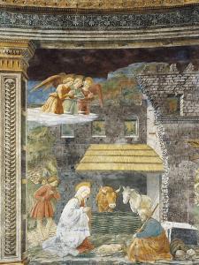 Nativity, Fresco by Filippo Lippi