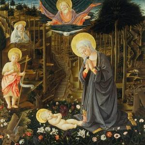 Nativity by Filippo Lippi