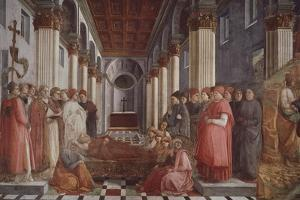 The Funeral of Saint Stephen by Filippo Lippi