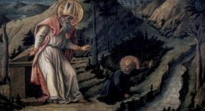 Vision of Saint Augustine, c.1452-1465 by Filippo Lippi