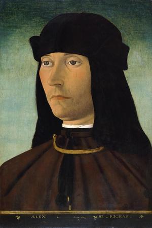 Portrait of Alessandro De Richao, after 1491