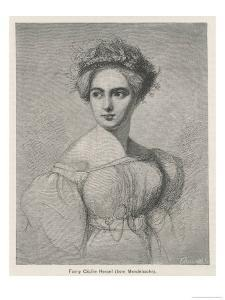 Fanny Caecilie Mendelssohn Sister of Felix Mendelssohn and a Composer in Her Own Right by Fillebrown