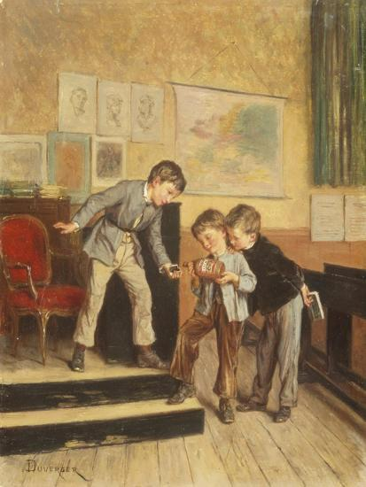Filling the Inkwells-Theophile E. Duverger-Giclee Print