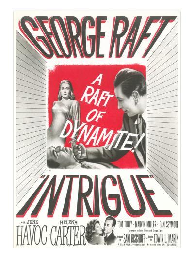 Film Noir One-Sheet--Art Print