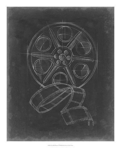 Film & Reel Blueprint II-Ethan Harper-Giclee Print