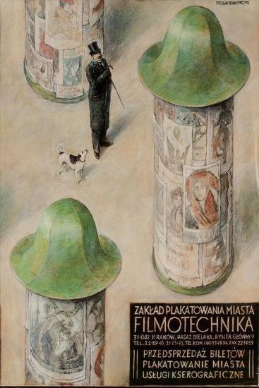 Filmotechnika Polish Film Festival Poster--Giclee Print