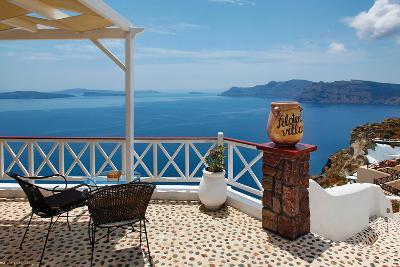 Filotera Villa Deck View-Larry Malvin-Photographic Print