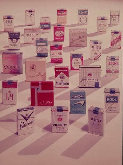 Filter Cigarettes-Walter Sanders-Photographic Print
