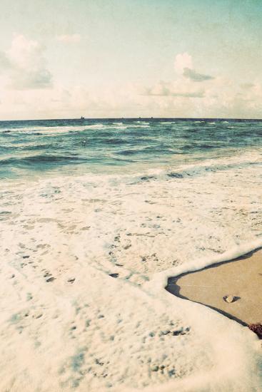 Filtered Beach Photo II-Gail Peck-Photographic Print