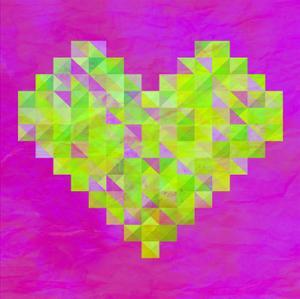 Neon Valentines by Fimbis