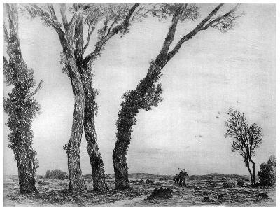Fin De La Journee, 1890-1940-Gaston de Latenay-Giclee Print