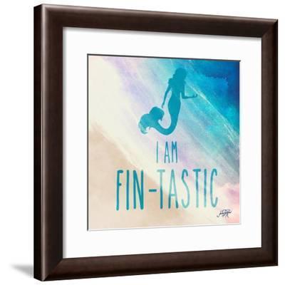 Fin-Tastic-Julie DeRice-Framed Art Print