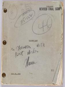 Final Script for Film 'Citizen Kane' with Annotations in Orson Welles' Hand, July 16th, 1940