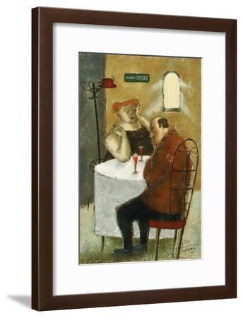 Finally-Steven Lamb-Framed Art Print