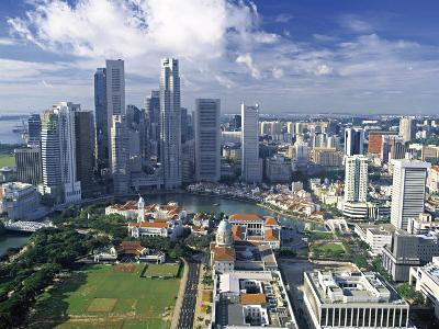 Financial District, Singapore-Alan Copson-Photographic Print