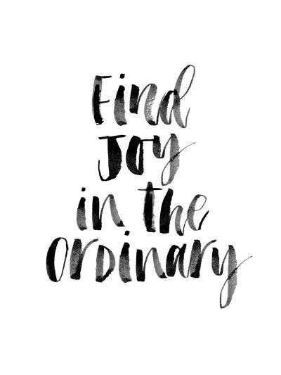 Find Joy in the Ordinary-Brett Wilson-Art Print