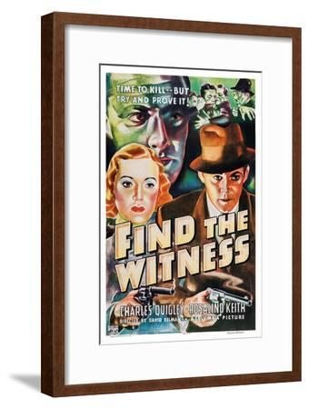 Find the Witness, Rosalind Keith, Charles Quigley, 1937