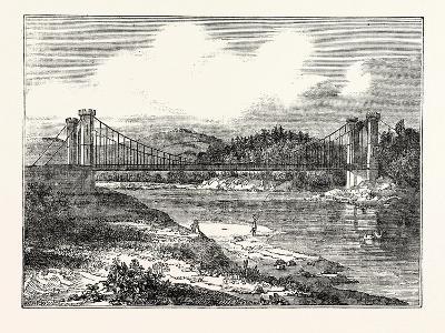 Findhorn Suspension Bridge--Giclee Print