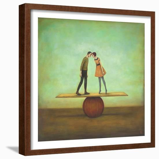 Finding Equilibrium-Duy Huynh-Framed Art Print