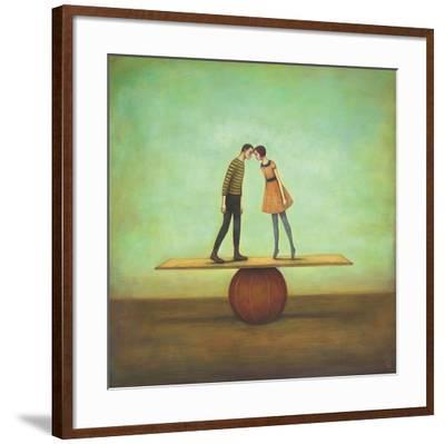 Finding Equilibrium-Duy Huynh-Framed Art Print