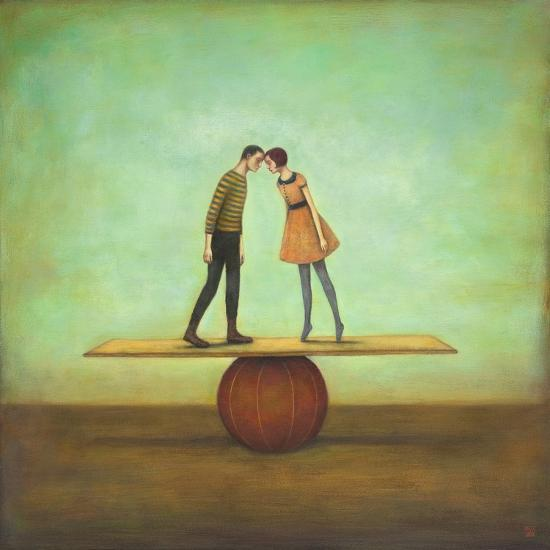 Finding Equilibrium-Duy Huynh-Premium Giclee Print