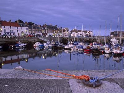 Findochty Harbour, Morayshire, Scotland, United Kingdom, Europe-Patrick Dieudonne-Photographic Print