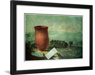 Finds from a Breaker Barrow, 1814--Framed Giclee Print