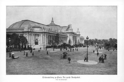 Fine Arts Palace, Paris World Exposition, 1889--Giclee Print