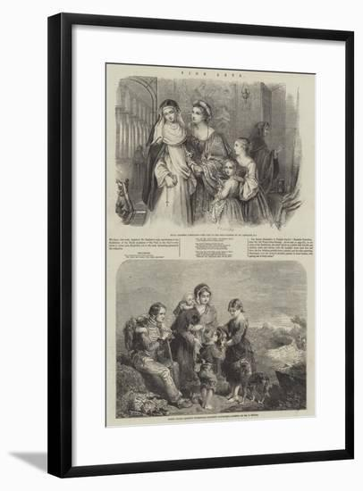 Fine Arts--Framed Giclee Print