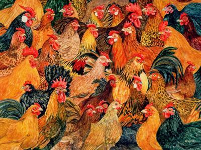 Fine Fowl-Ditz-Giclee Print