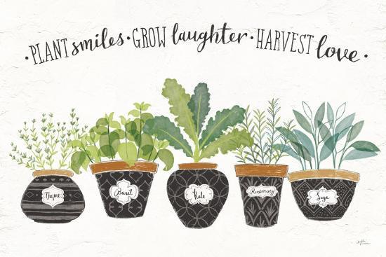 Fine Herbs I-Janelle Penner-Art Print
