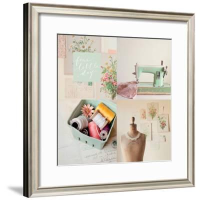 Fine Little Day for Sewing-Mandy Lynne Photography-Framed Premium Giclee Print