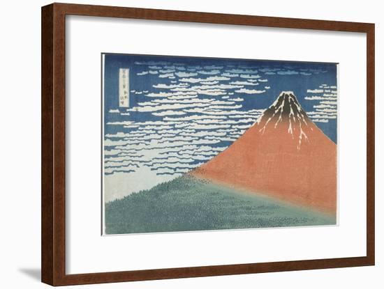 Fine Wind, Clear Weather, 1831-1834-Katsushika Hokusai-Framed Giclee Print