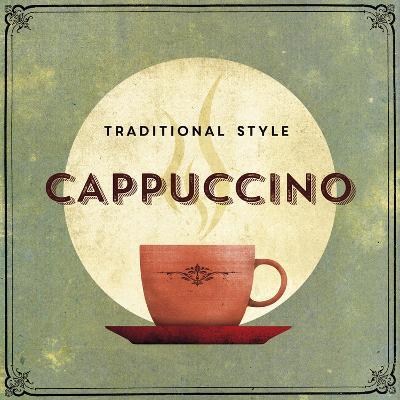 Finest Coffee - Cappuccino-Hens Teeth-Art Print