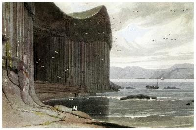 Fingal's Cave, Staffa, Outer Hebrides, Scotland. 1814-William Daniell-Giclee Print