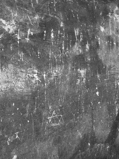Fingernail Scratches in Main Gas Chamber, Auschwitz, Poland-David Clapp-Photographic Print