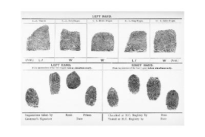 Fingerprints, Historical Image-Middle Temple Library-Giclee Print