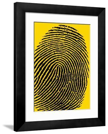 Fingerprints--Framed Art Print