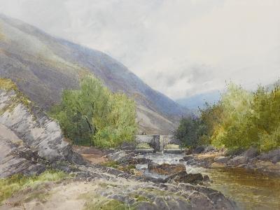 Fingle Bridge on the Teign , C.1895-96-Frederick John Widgery-Giclee Print