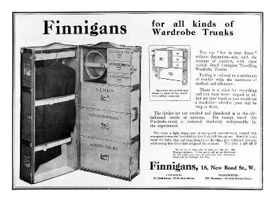 Finnigans Wardrobe Trunk--Giclee Print